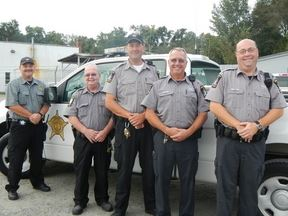 Sergeant Griffith and Deputies Jarratt, Joyner, and Griggs