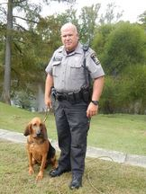 Canine Unit Deputy Busching and Molly